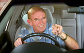 Road Rage 1 — Stock Photo