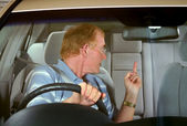 Road Rage 4 — Stock Photo