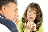 Interrogatoire de couple — Photo