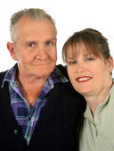 Vader en dochter 5 — Stockfoto