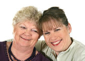 Older Mother And Daughter — Stock Photo