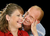 Middle Aged Couple Having Fun — Stock Photo