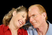 Middle Aged Couple Laughing — Stock Photo