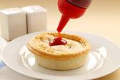 Aussie Meat Pie — Stock Photo