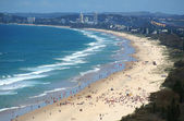 Surfers Paradise Beach Gold Coast — Stock Photo