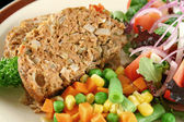 Meatloaf And Vegetables 6 — Stock Photo