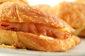 Melted Cheese Croissant 4 — Stock Photo
