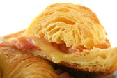 Melted Cheese Croissant 5 — Stock Photo