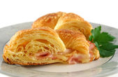 Melted Cheese Croissant 6 — Stock Photo