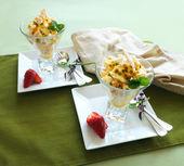 Meringue Dessert — Stock Photo