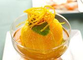 Orange Dessert — Stock Photo