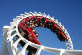 Rollercoaster Ride, Seaworld Gold Coast, Australia — Stock Photo