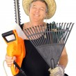 Happy Middle Aged Gardener — Stock Photo #11776848