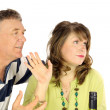 Couple Having An Argument — Stock Photo