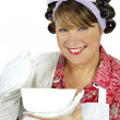 Baking Dish Housewife — Stock Photo