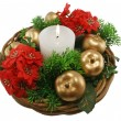 Stock Photo: Christmas Basket 1