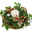 Christmas Basket 2 — Stock Photo #11777896