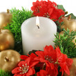 Xmas Candle — Stock Photo #11777900
