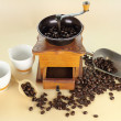 Coffee Grinder And Beans — 图库照片 #11777916
