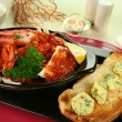 Cracked Crab In Tomato Sauce — Stock Photo