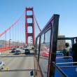 Bus Tour Golden Gate Bridge San Francisco CA — Stock Photo #11778126