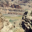 Stock Photo: Grand Canyon West Rim