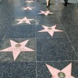 Hollywood Walk Of Fame - 图库照片
