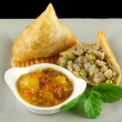 Vegetarian Samosa — Stock Photo #11778220
