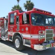 Los Angeles Fire Truck, Venice Beach, CA — Stock Photo #11778292