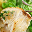 Pan Fried Perch Fillets — Stock Photo