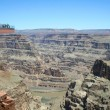 Stock Photo: Skywalk Grand Canyon