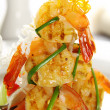 Stock Photo: Shrimp Stack