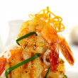 Stock Photo: Prawn Stack