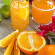 Summer Orange Drink — Stock Photo