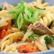 Tuna Pasta — Stock Photo