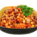 Vegetable And Lentil Hot Pot — Stock Photo