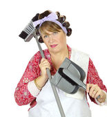 Exasperated Housewife — Stock Photo