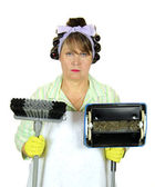 Unhappiest Housewife In The World — Stock Photo