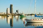 Broadwater Boats Gold Coast — Stock Photo