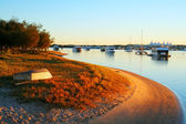 Boats By The Water — Stock Photo