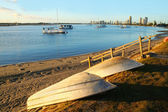 Southport Broadwater At Sunrise — Stock Photo