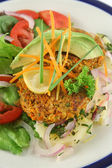 Carrot And Tuna Patties 3 — Stock Photo
