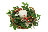 Christmas Basket 2 — Stock Photo