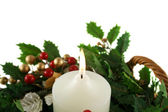 Christmas Candle 2 — Stockfoto