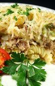 Creamy Tuna And Pasta Bake — Stock Photo