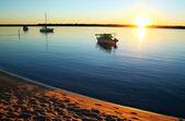 Dawn Boats — Stock Photo