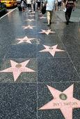 Hollywood Walk Of Fame — Stock Photo