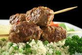 Koftas And Couscous 2 — Stock Photo