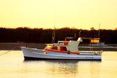 Old Motor Boat — Stockfoto