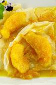 Orange Crepes — Stock Photo